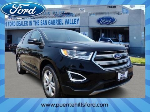 New 2017 Ford Edge Titanium AWD 4D Sport Utility